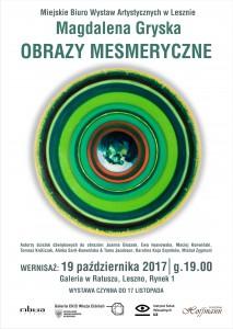 Magdalena_Gryska_Obrazy_Mesmeryczne_wystawa_plakat_MBWA_2017
